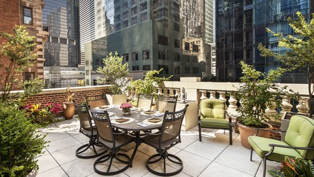 In the heart of Manhattan, the Chatwal is a well-established luxury hotel, just minutes from Times Square