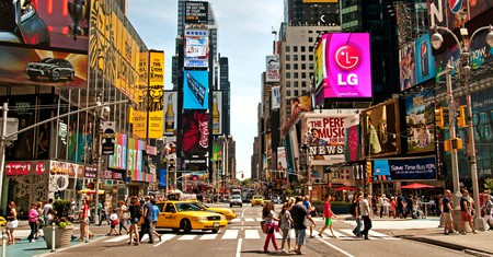 Times Square is the epicenter of entertainment in NYC, so a great place to base yourself