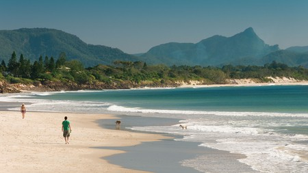 Come to backpacker-friendly Byron Bay for chilled afternoons on sandy stretches, including Belongil Beach
