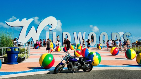 The vibrant Wildwoods are five communities brimming with beachy fun