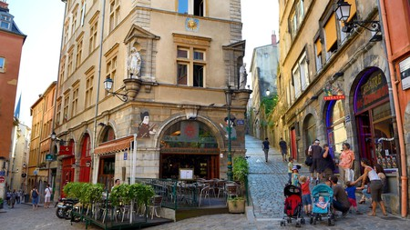 Vieux Lyon, France, is a Unesco-listed World Heritage site