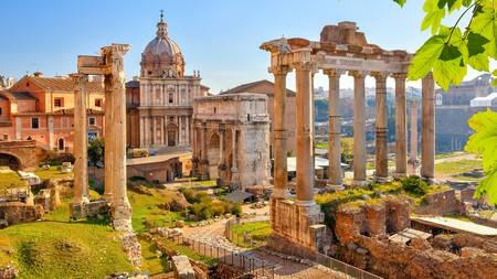 The ruins of the Roman Forum in Rome are a must-see