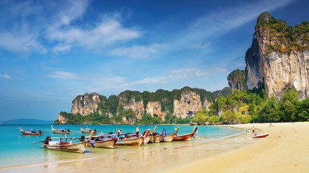 The Krabi province has hundreds of kilometres of coastline. These are the most must-see portions of it.