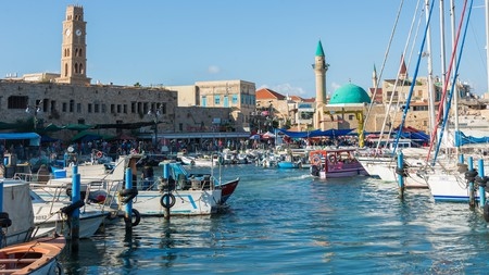 Acre, or Akko, in northern Israel is home to a beautiful 2,000-year-old port
