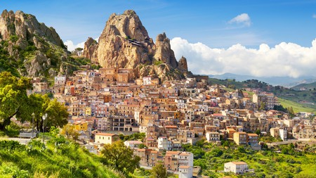 The beautiful towns in Sicily, such as Gagliano Castelferrato, are a major draw for many tourists