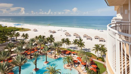 Your beachside vacation comes with championship golf courses at the JW Marriott Marco Island Beach Resort