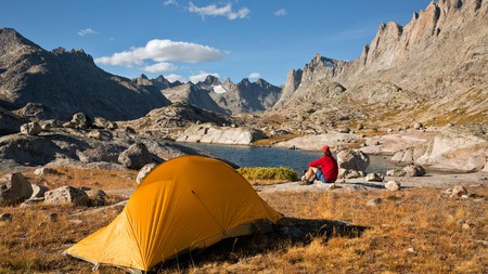 The best way to take in Wyoming's natural beauty is by camping among it