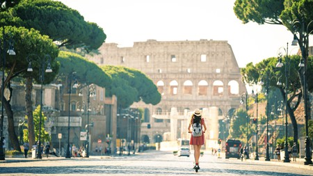 History awaits at every turn in Rome, Italy's grand capital