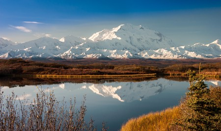 Denali National Park, in Alaska, is famed for its mountain views, glistening lakes and largely untrodden terrain