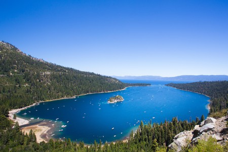 You won't be short of a good view with a waterfront rental on Lake Tahoe