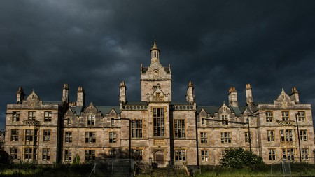 The ruined Denbigh Asylum is without doubt one of the eeriest abandoned buildings in Wales