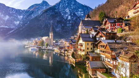 The fairytale scenery of Austria makes for an ideal romantic break