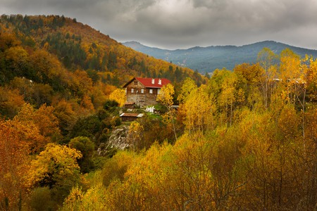 The Kure Mountains in Kastamonu look particularly picturesque during autumn