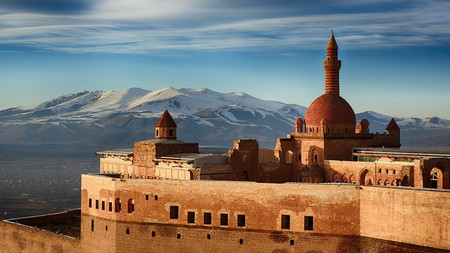 The Ottoman-era Ishak Pasha Palace is one of many picturesque buildings in Turkey
