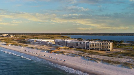 The Lodge at Gulf State Park is an eco-friendly resort in Orange Beach