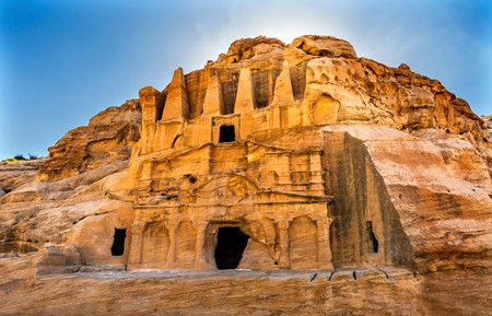An ancient city carved into sandstone mountains, Petra offers the chance to hike through ruins and absorb ancient history