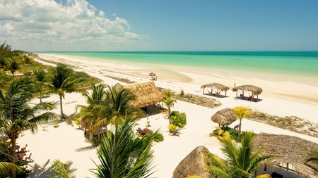 Soak up the sun with a mezcal cocktail on Mexico's beachy, car-free island of Holbox