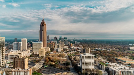 Atlanta is Georgia's biggest city and an unmissable part of any road trip through the state