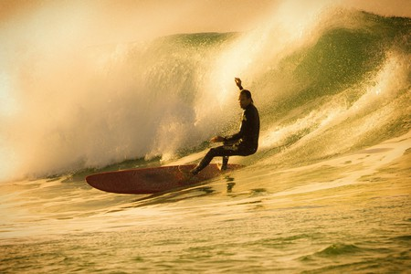 Morocco has a long coastline and enjoys year-round surf