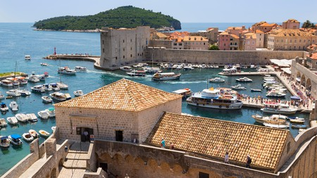 The old city of Dubrovnik is a major tourist hotspot in Croatia