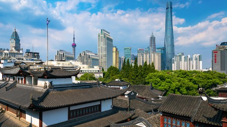 Shanghai's has evolved rapidly over the years, resulting in a diverse skyline