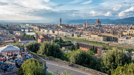 Teeming with history, Florence's skyline remains largely unchanged over the centuries