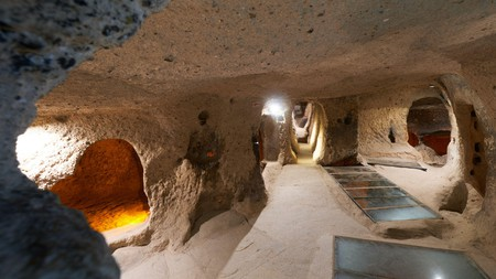 Kaymakli is one of the most famous underground cities in Turkey