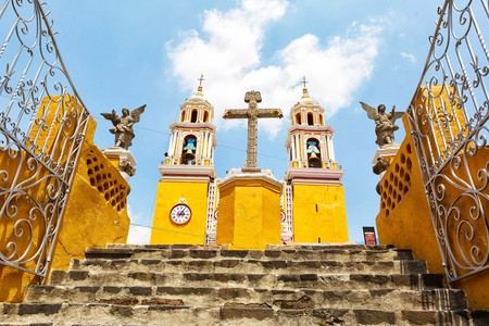Cholula is full of beautiful, historic churches to discover
