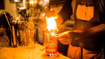 You'll never be out of options when seeking a negroni or Aperol spritz in Naples