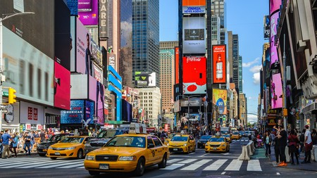 A stay in Times Square puts you at the center of the action in New York