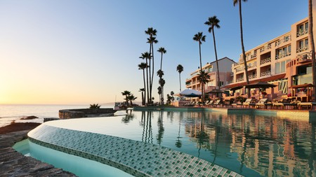 La Rosas Hotel and Spa offers sumptuous views across the Pacific Ocean