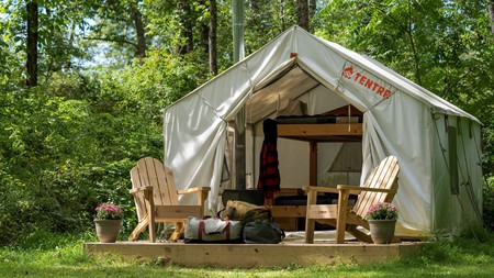 Camping gets the 21st-century treatment in much of Florida