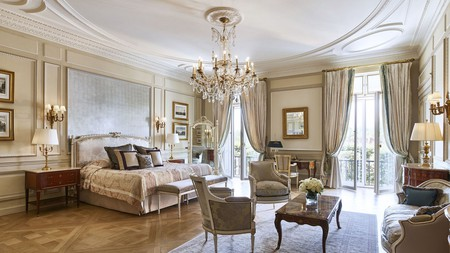 Le Meurice is one of most lavish options for a stay in the City of Light