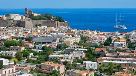 Lipari town is the main commercial hub of the alluring, volcanic Aeolian Islands