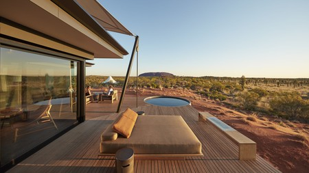 With outback views like these, it's time to book a glamping trip in Australia