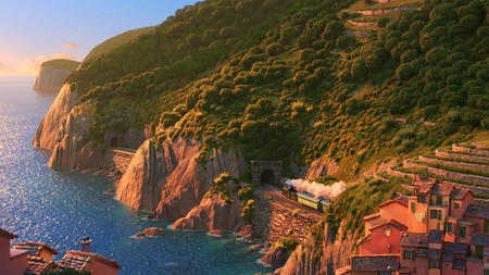 Portorosso is the fictional town at the heart of this new Disney and Pixar animation