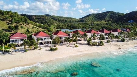 Antigua has serene waters, ideal for fishing, sailing and windsurfing