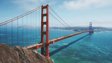 The grand Golden Gate Bridge is one of the must-see sights on the West Coast