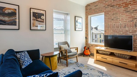 Macs Townhouse, in the pretty harbour town of Dungarvan, has a retro theme throughout
