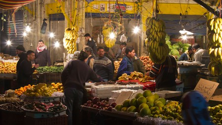 Root through the markets in Amman to discover delicious, seasonal produce