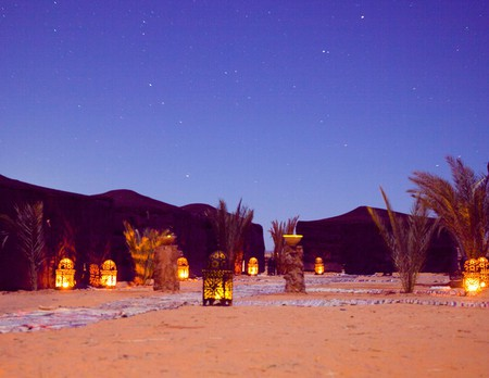 Kam Kam Dunes near Merzouga are waiting to show you warm hospitality – and a night under the stars to remember