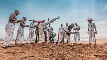 Capoeira is a martial art-infused dance thought to have originated in 16th-century Brazil