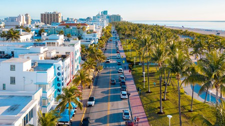 Ocean Drive, Miami's most iconic street, is an attraction in itself