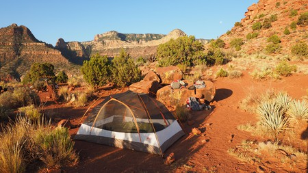 Pitch up at some stunning natural campsites to explore the Grand Canyon and beyond