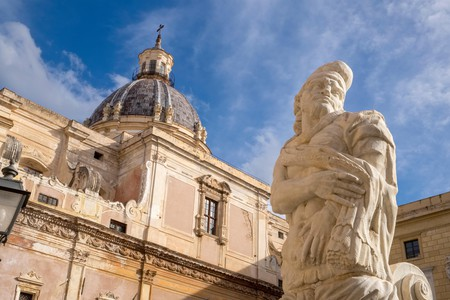 Santa Caterina in Palermo is only one of the many architectural masterpieces on Sicily
