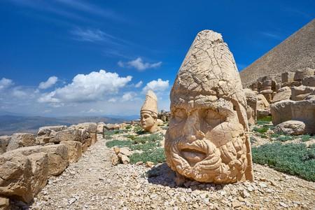 Nemrut Dağı National Park is known for its statues