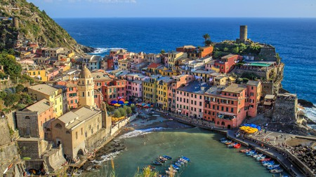 The fishing village of Vernazza is a highlight of the Cinque Terre