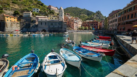 Vernazza is one of the five beautiful villages that make up the Cinque Terre