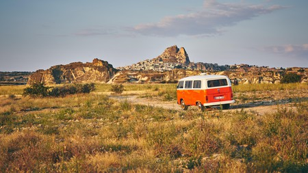 Discover the rocky landscape of Cappadocia, Turkey