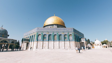 The magnificent Dome of the Rock is one of the key attractions on Temple Mount